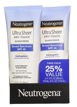 Neutrogena Ultra Sheer Dry-Touch Sunscreen Lotion