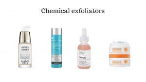 Types exfoliation
