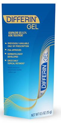 Differin Adapalene Gel 0.1%