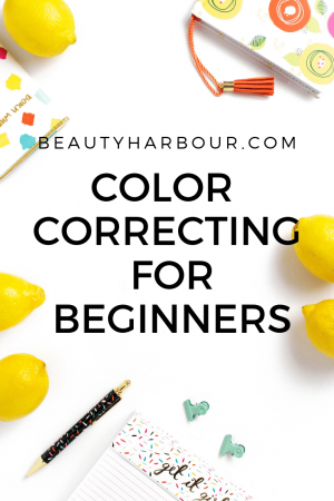 COLOUR correcting for beginners