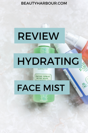 Review of Hydrating Face mist