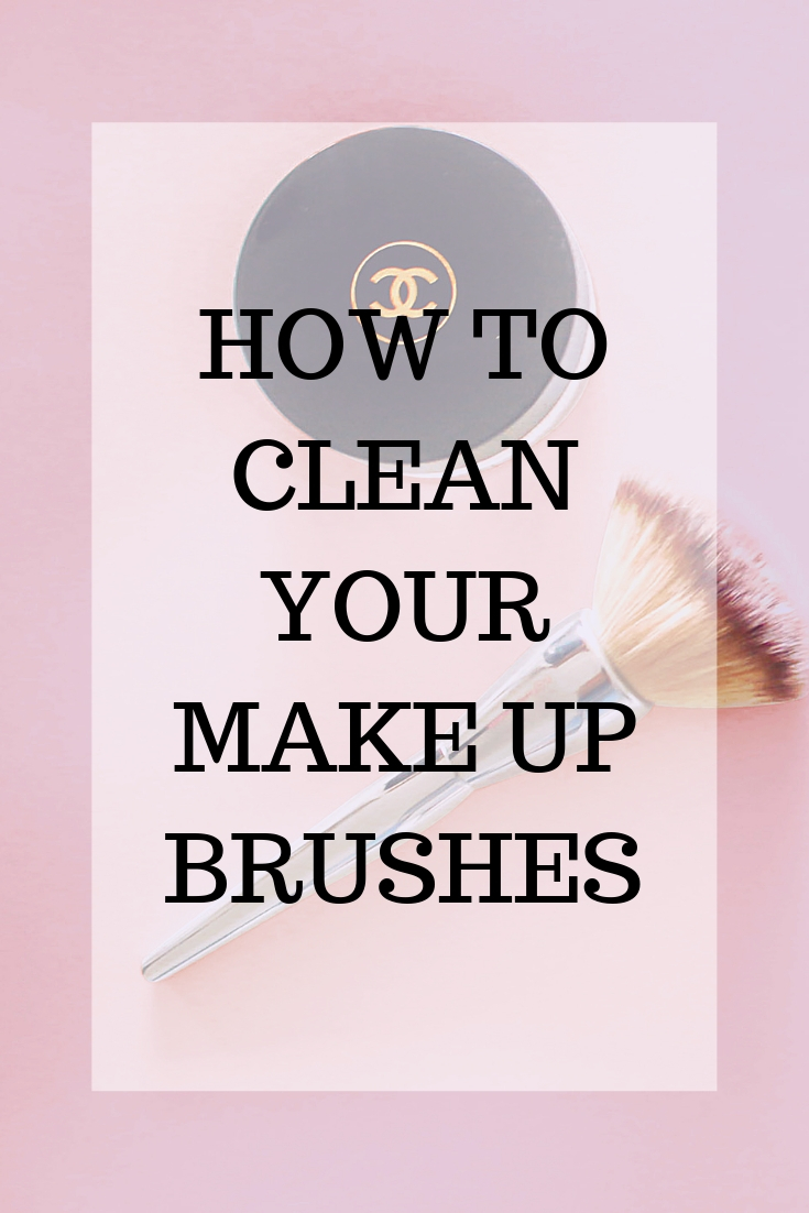 How and why you need to clean your makeup brushes