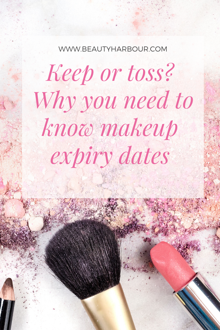 Do you use expired makeup?  Why you need to  stop if you want great skin