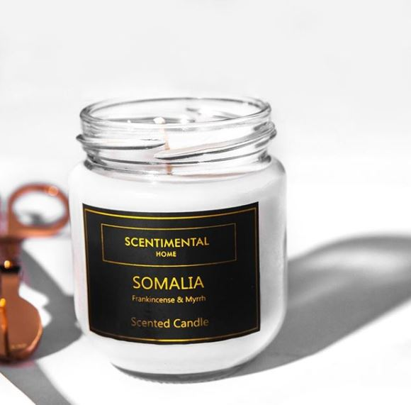 Nigerian scented candles