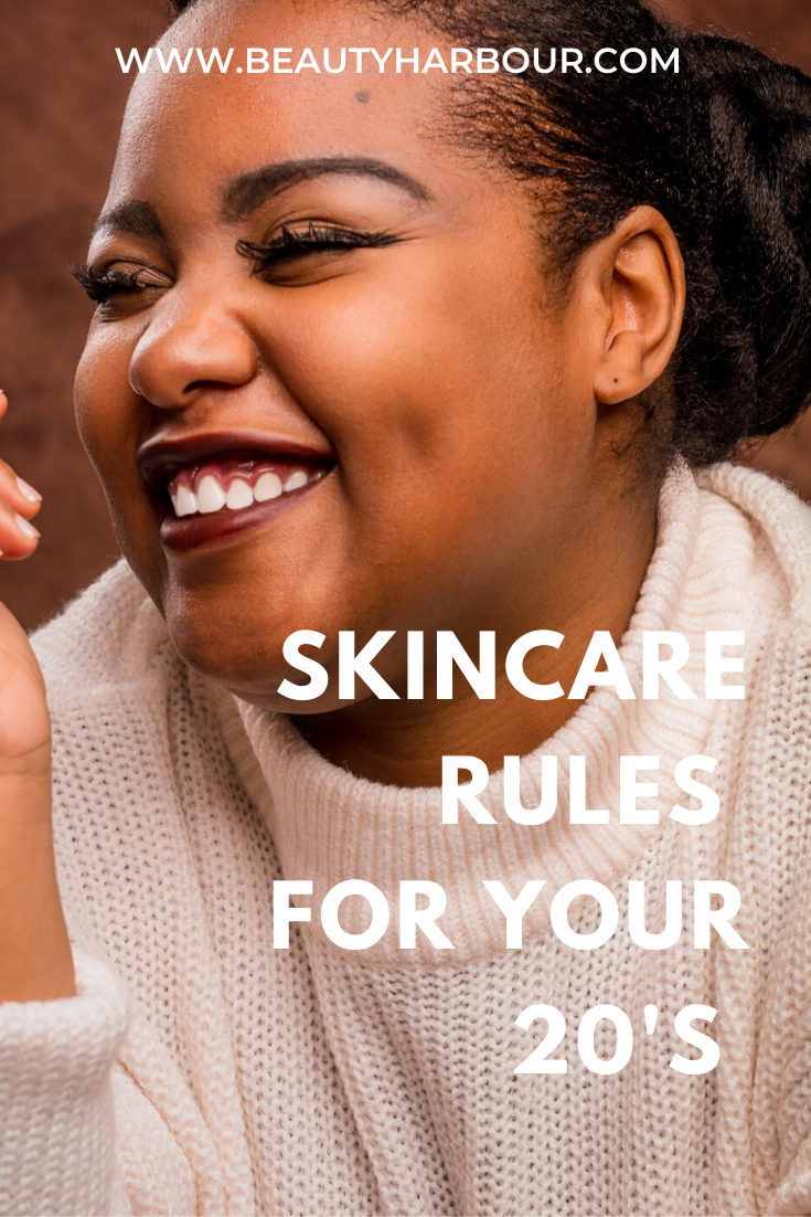THE ULTIMATE SKINCARE RULES FOR EACH DECADE OF YOUR LIFE: THE 20'S